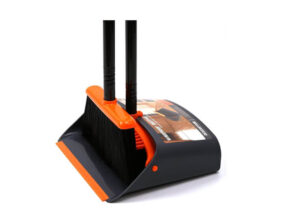 TreeLen Broom and Dustpan combo for Dog hair
